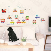 [Car Toys] Decorative Wall Stickers Appliques Decals Wall Decor Home Decor