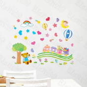 [Toy Bear] Decorative Wall Stickers Appliques Decals Wall Decor Home Decor