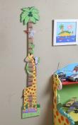 Teamson Kids - Childrens Sunny Safari Growth Chart