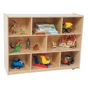 Wood Designs 36H in. Single Storage - Natural
