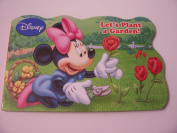 Disney Educational Shaped Board Book ~ Let's Plant a Garden!