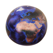Jet Creations Inflatable Marble Globe, Blue, 41cm