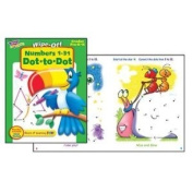 Trend Enterprises T-94222 Numbers 1-31 Dot To Dot Wipe Off- Book