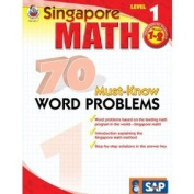 Frank Schaffer Publications FS-014011 70 Must Know Word Problems Level 1 Gr 1-2