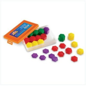 54-PIECE Metric Weight Set LER4292 LEARNING RESOURCES