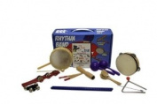 Rhythm Band Bing Bang Boom 10 Player Rhythm Kit with Instructional Interactive DVD by Bradley Bonner