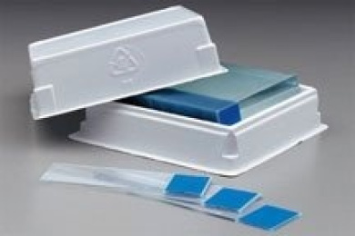 Colormark Plus slides for labelling instruments - (White) (144 per Pack)