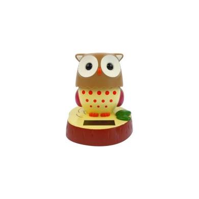 Solar Power Motion Toy - Owl - Solar Power Motion Toy - Owl