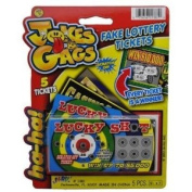 Jokes and Gags Fake Scratch Off Lottery Tickets - Case Pack 24 SKU-PAS982967