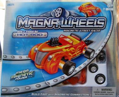 MagnaWheels Magnetic Street Car Hot Rod