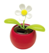 Solar Power Flowerpot Flip Flap Dancing Toy Flower Cute Sunflower Car Interior Decor