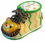 Giftcraft Bootieful Bootique Child's Bank Born to Be Wild 482504
