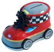 Giftcraft Bootieful Bootique Child's Bank Speed Demon 482509