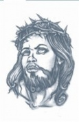 Jesus Prison Temporary Tattoo