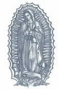 Our Lady Prison Temporary Tattoo