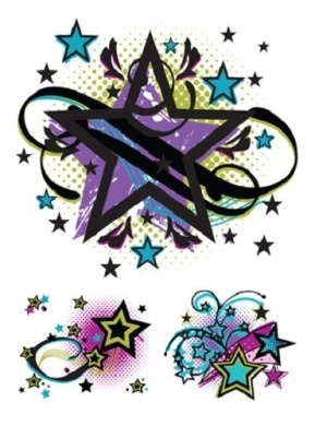 Style Me Up Shooting Star Tattoos