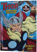 The Mighty Thor - Book to Colour with Tattoos
