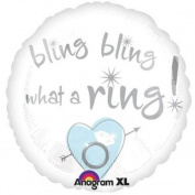 Bling Bling What a Ring 46cm Balloon