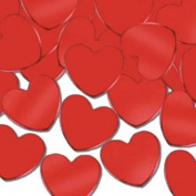 Fanci-Fetti Hearts (red) Party Accessory (1 count)