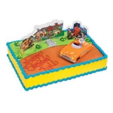 Looney Tunes Bugs Bunny & Daffy Cake Topper Kit