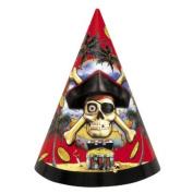 Party Hats - 8PK/Pirates Bounty