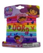 Dora Hair Elastic Bands (1) Party Accessory