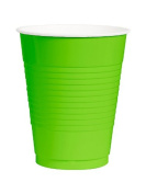 Lime Plastic 350ml Cup, 50 ct.