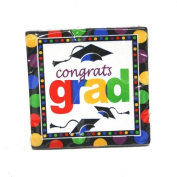 Graduation Dots Lunch Napkins : package of 16