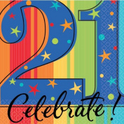 Year To Celebrate 21st Napkin