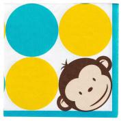 Mod Monkey Napkins (16)