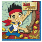 Jake and the Never Land Pirates Luncheon Napkins [16 Per Pack]