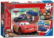 Ravensburger Disney Cars 3 X 49 Piece Puzzles