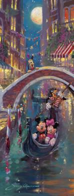 Disney Venetian Romance 1000 Piece Jigsaw Puzzle - Ravensburger
