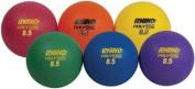"""Rhino Playground Ball Set, 8 1/2"""" Diameter, Rubber, Assorted, 6 Balls/Set"""
