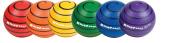 "Rhino Skin Ball Sets, 6 3/10"", Blue ,Green, Orange, 3/Set"