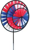 Premier 21709 Wind Garden Patriotic Triple Spinner Wheel
