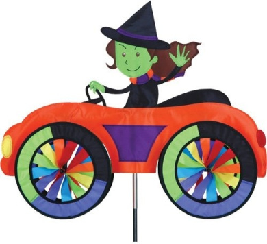 Premier 26756 Car Spinner, Witch, 60cm by 50cm