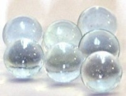 Clear Glass Marbles 1.3cm in Diameter 500 Per Package / 2kg of Marbles