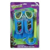 Teenage Mutant Ninja Turtles Swim Set Mask, Snorkle Pair of Flippers