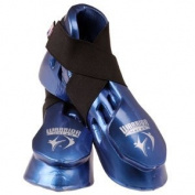 Macho Metallic Blue Warrior Kick, Child Large