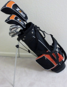 Boys Right Handed Junior Golf Club Set with Stand Bag for Kids Ages 5-8 Orange Colour Premium Jr. Professional Quality