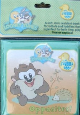 "Baby Looney Tunes ""Opposites"" Bathtime Bubble Book"
