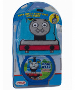 Thomas and Friends, Bath Mitt Set with Body Wash Pump, Thomas The Train