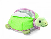 Steiff Steiff«s little circus turtle with bag, green Baby Plush