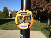 GameDay Basketball Scoreboard for Kids Portable Driveway Basketball Poles