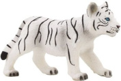 MOJO WHITE TIGER CUB PAINTED REPLICA WILD ANIMAL COLLECTABLE TOYS FIGURES 387014