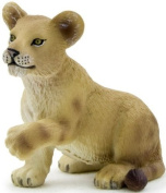 MOJO LION CUB HAND PAINTED REPLICA WILD ANIMAL COLLECTABLE TOYS FIGURES 387012