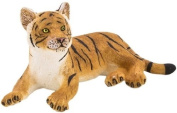 MOJO TIGER CUB HAND PAINTED REPLICA WILD ANIMAL COLLECTABLE TOYS FIGURES 387009
