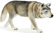 MOJO TIMBER WOLF HAND PAINTED REPLICA WILD ANIMAL COLLECTABLE TOY FIGURES 387026