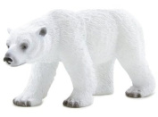 MOJO POLAR BEAR HAND PAINTED REPLICA WILD ANIMAL COLLECTABLE TOYS FIGURES 387019